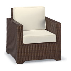 Frontgate Palermo Balcony Outdoor Lounge Chair With