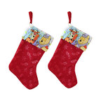 Four Seasons - Winnie Pooh Christmas Stocking Set Holiday Decorations - FEATURES: