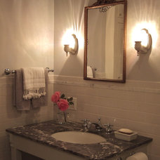 Traditional Bathroom by Debra Herdman Design