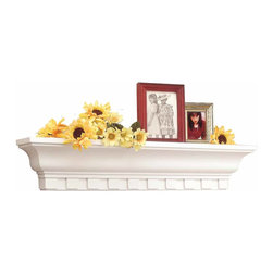 "The Renovators Supply - Shelves White 24"""" W x 3.75"""" Deep Shelf 
