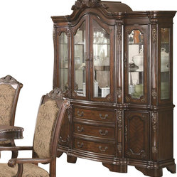 Coaster Furniture - Andrea Buffet and Hutch by Coaster Fine Furniture - Andrea Buffet and Hutch ...