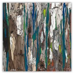 "Small Painting Giclee - Eucalyptus Trees - Size: 12"" x 12"" x 0.75"""