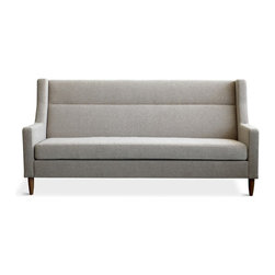 Gus Modern - Gus Modern Carmichael Loft Sofa, Urban Tweed Potash - If your decor ideal is comfortably modern, this is your new sofa. Its clean lines, plush upholstery, comfortable high back and sensible 72-inch width make it a superb choice for your favorite setting.