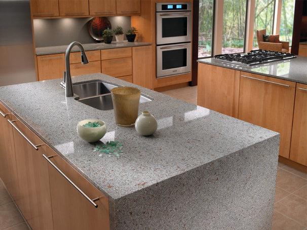 Contemporary Kitchen Countertops by Green Depot