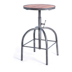 Go Home Classroom Stool Made Of Wood And Steel The