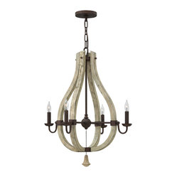 Fredrick Ramond Middlefield 4-Light Chandelier