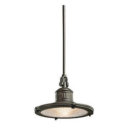 Kichler - Kichler Sayre Unique Pendant Light Fixture in Olde Bronze - Shown in picture: Pendant 1Lt in Olde Bronze