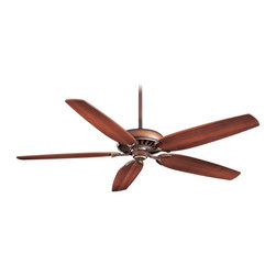 "Minka Aire - Minka Aire F539-BCW Great Room Belcaro Walnut 72"" Ceiling Fan with Wall Control - Features:"
