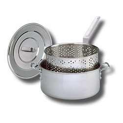 King Kooker - King Kooker Stainless Steel Fry Pan - 10 qt. Multicolor - KK 2S-1 - Shop for Fryers and Supplies from Hayneedle.com! About King Kooker King Kooker embodies the spirit of Cajun cooking - they know how to make delicious food and they want to share it with you and yours. With a full range of products designed to help you boil seafood simmer gumbo or jambalaya fry fish steam clams deep-fry turkey and tackle traditional grilling tasks King Kooker has everything you need to celebrate good eatin'. High-quality materials and experienced design mark a well-made outdoor product and King Kooker a-bayou-t as good as it gets.
