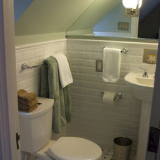 Traditional Bathroom by Debra Paessler Designs