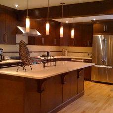 Modern Kitchen Cabinets by Angelo Vallianatos, Sales/Designs of Kitchen Craft
