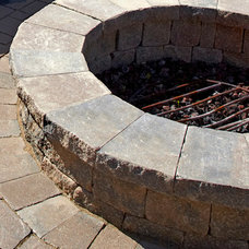 Contemporary Firepits by Unilock