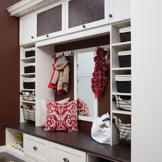 clothes and shoes organizers by California Closets