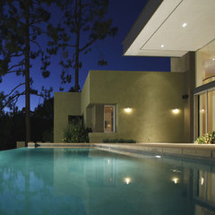 modern pool by Equinox Architecture Inc. - Jim Gelfat