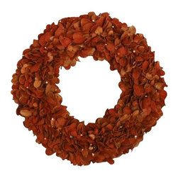 Tag - Autumn Wreath, Terra by Tag - Our Autumn wreath helps welcome the season to your home. This wreath features deep, seasonal colors that are the perfect complement to your fall decor.