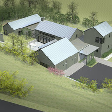 Farmhouse Rendering by Gast Architects