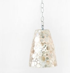 George Capiz Shell Pendant Worlds Away