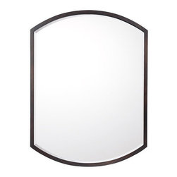 Capital Lighting - Capital Lighting M362476 Decorative Rounded Rectangular Mirror - Capital Lighting M362476 Decorative Rounded Rectangular MirrorEnhance the look of any home with this appealing rounded rectangle design featuring a slender Burnished Bronze frame with a central beveled mirror.Capital Lighting M362476 Features: