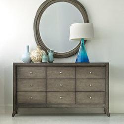Hooker Furniture - Hooker Furniture Melange Affinity Dresser 638-90005 - Includes Melange Affinity Dresser 638-90005 only.