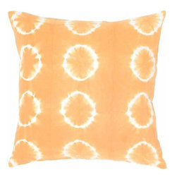 Rizzy Home - Orange and White Decorative Accent Pillows (Set of 2) - T04417 - Set of 2 Pillows.