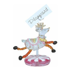 WL - 3.75 Inch Dinner Party Kitchenware Wild Deer Name Place Card Holder - This gorgeous 3.75 Inch Dinner Party Kitchenware Wild Deer Name Place Card Holder  has the finest details and highest quality you will find anywhere! 3.75 Inch Dinner Party Kitchenware Wild Deer Name Place Card Holder  is truly remarkable.