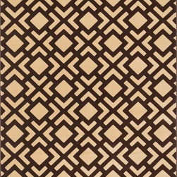 "Loloi Rugs - Loloi Rugs Goodwin Collection - Beige / Brown, 3'-10"" x 5'-7"" - Go bold with the big graphic patterns featured in the Goodwin Collection. Power loomed in Turkey of 100% polypropylene, expect amazing color fastness from the resilient fiber and unparalleled durability from the densely packed yarns. Available in scatter, regular, round, and runner sizes."
