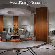 Modern Entry by J Design Group - Interior Designers Miami - Modern