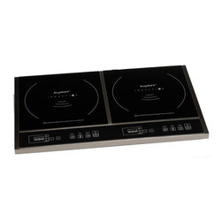BergHOFF - BergHOFF Touch Screen Double Induction Cooktop Multicolor - 2204221 - Shop for Cooktops from Hayneedle.com! With the BergHOFF Touch Screen Double Induction Cook Top you can experience faster and more energy-efficient cooking. This cook top features two touch screen control panels. You can regulate the power time and temperature on each cook top individually. Its compact size and lightweight body make it ideal for travelling with and allows space-efficient storage. Apart from this the multiple protection design guards against overheating over-currents or over-voltage input. For cleaning you simply need to hand-wipe using a damp cloth.