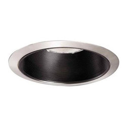 Halo - Halo 6 in. Recessed Satin Nickel Baffle Trim 310SN - Shop for Lighting & Fans at The Home Depot. Features a satin-nickel trim ring with a black baffle to focus the light and reduce glare. Adds dramatic lighting to any room. Accepts a wide variety of lamps.