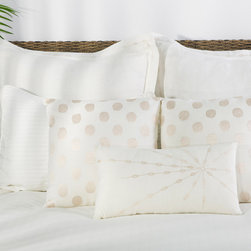 Rizzy Home - Rizzy Home Astoria 9 Piece Bedding Set - Fresh, clean elegance is portrayed from the crisp white Astoria Bedding Set. The unadorned duvet cover and pillow shams are clear of pattern, but the three accent throw pillows display a sophisticated embroidery pattern in a light sand-toned thread for added texture and interest. From the classic and pristine bedspread, these elements make a charming and bright bedroom centerpiece:All pieces made from 100 percent cottonKing Bedding Set includes: one (1) 114 x 98-inch filled duvet, three (3) 26 x 26-inch euro shams, two (2) 20 x 36-inch king pillow shams, two (2) different 18 x 18-inch accent pillows, one (1) 11 x 21-inch throw pillow, and one (1) 78 x 80-inch bed skirt with an 18-inch dropQueen Bedding Set includes: one (1) 96 x 98-inch comforter, two (2) 26 x 26-inch euro shams, two (2) 20 x 26-inch standard shams, two (2) different 18 x 18-inch accent pillows, one (1) 11 x 21-inch throw pillow, and one (1) 60 x 80-inch bed skirt with an 18-inch dropPillow sham inserts and headboard not includedMade in India