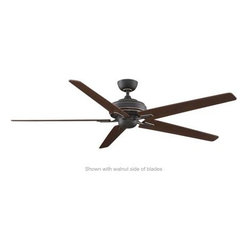 Fanimation - Fanimation Keistone 72 Without Lights (DC Motor) Ceiling Fan in Bronze Accent - Fanimation Keistone 72 Without Lights (DC Motor) Model FPD8089BA-NL in Bronze Accent with Blades.