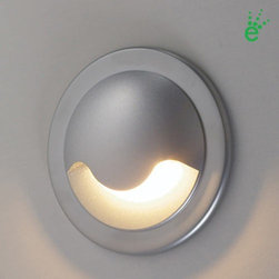 Bruck - Bruck | Ledra Uno with J-Box and Driver - The Ledra Uno with J-Box and Driver is an up or downlight fixture. Suitable for indoor use. The small size, long life, lack  of UV, and cool beam makes them suitable for a variety of applications including use as step or marker lights.Available  in choice of finishes and LED color temperatures. Includes driver and special junction box.Technical Specifications: