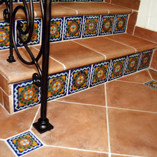 Mediterranean Staircase by Clay Imports