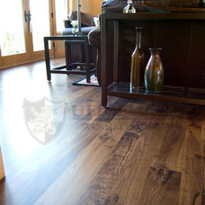 Traditional Living Room by Heidelberg Wood Flooring