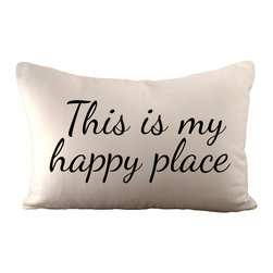 Sarah Smile - This is my happy place, With Polyester Insert - This is my happy place