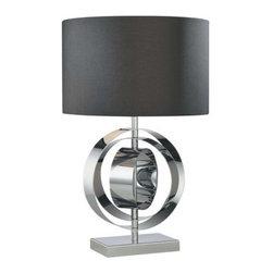 "Kovacs - Kovacs P745-077 1 Light 24.5"" Height Table Lamp Decorative Portables Co - Single Light 24.5"" Height Table Lamp from the Decorative Portables CollectionFeatures:"
