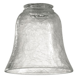 "Quorum International - Quorum 2807 2.25"" Clear Crackle Glass - Quorum 2807 2.25"" Clear Crackle Glass"