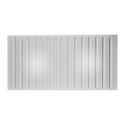"""Southland Ceiling Tile 2x16 - Translucent-Sample - Perfect for both commercial and residential applications, these tiles are made from thick .03"""" vinyl plastic. Their lightweight yet durable construction make these tiles easy to install. Waterproof, these tiles are washable and won't stain due to humidity or mildew. A perfect choice for anyone wanting to add that designer touch at an amazing price."""