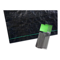 Poly-Tex, Inc. - Ground Cover Kit 12' x 14' with Staples - Ground Cover Kit includes a versatile fabric to cover the floor of your greenhouse. Porous fabric allows moisture to soak through while keeping your greenhouse floor tidy. Includes 12' x 14' ground cover cloth and 24 staples.