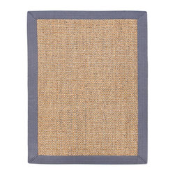 Anji Mountain - Minivet Sisal Rug - 3' x 5' - Sisal fiber is exceptionally strong and durable and is one of the most hard-wearing natural fibers. It does not absorb moisture easily and resists saltwater deterioration so it's an excellent option for seaside home decor. Sustainably harvested in Southern China where the hot, dry climate offers perfect growing conditions.