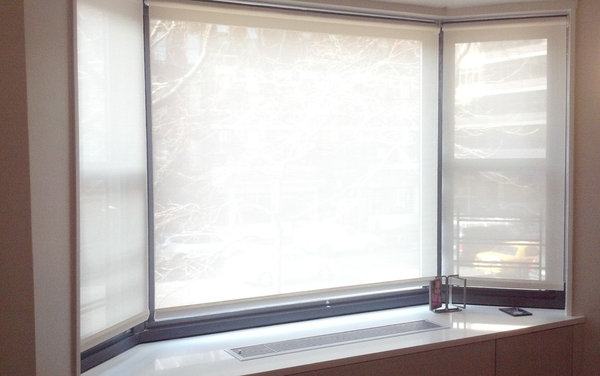 Http Www Houzz Com Discussions 718377 Roller Shades In A Bay Window