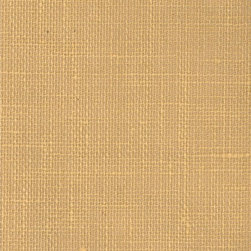 Burlap - Gold - Ralph Lauren's collection of woven wallpapers from the Textures III book.