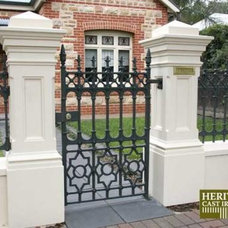 Traditional Home Fencing And Gates by Heritage Cast Iron USA