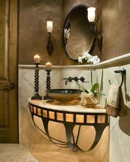 Mediterranean Bath Products by Debra May Himes Interior Design & Associates, LLC