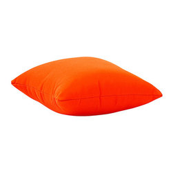 Zuo Modern Contemporary, Inc. - Laguna Small Outdoor Pillow Orange - If you need more ammo for poolside pillow fights, pick up one or a dozen of the Laguna Outdoor Pillows. These fun and functional throw pillows are made with a UV and moisture resistant washable polyester fabric. They'll add an extra zip of color wherever they're tossed.