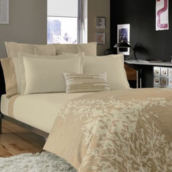 Kenneth Cole Reaction Home - Kenneth Cole Reaction Home Radiant Coverlet - In a gentle ivory display, the Kenneth Cole Reaction Home Radiant Coverlet will top off your bed in a wonderful way. The stone-washed soft feel is something that will make your bedroom more cozy than ever before.