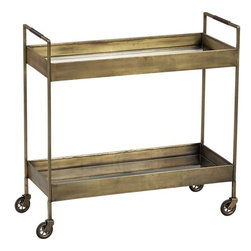 Libations Bar Cart - This cart's vintage vibe makes it perfect for its intended use as a bar cart, but you could switch it up a bit and use it as an entry console or a bedside table.