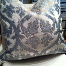 Traditional Pillows by Applique Artistry