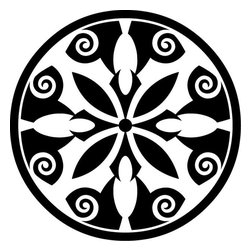 Odhams Press - Breton Black RETile Decal, Clear Background - RETile decals can be used to accent or transform your existing ceramic, stone or glass tiles. They are easy to apply and can be removed in the future without leaving a sticky residue.
