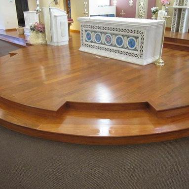 Church Hardwood Altar -